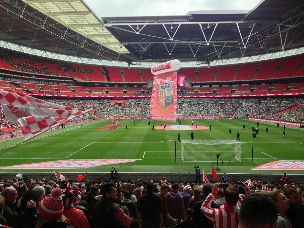 Brentford 1 Yeovil 2 – More Wembley Woe For The Bees