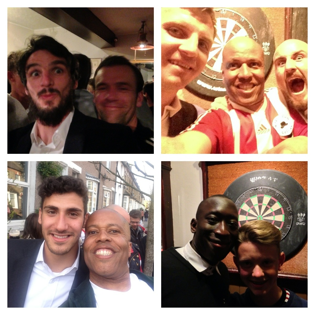 (MUST WATCH VIDEO) Brentford Promotion Day party with loads of players interviews