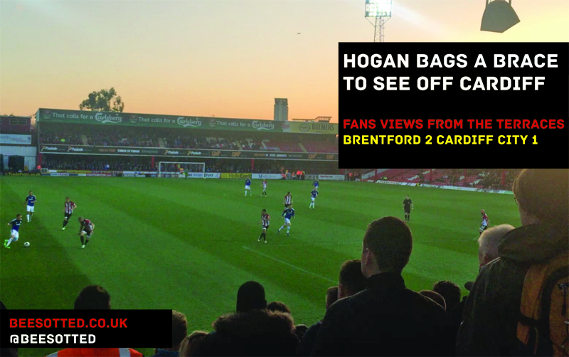 Hogan's Brace Sees Off The Bluebirds – Brentford 2 Cardiff City 1 (VIDEO)