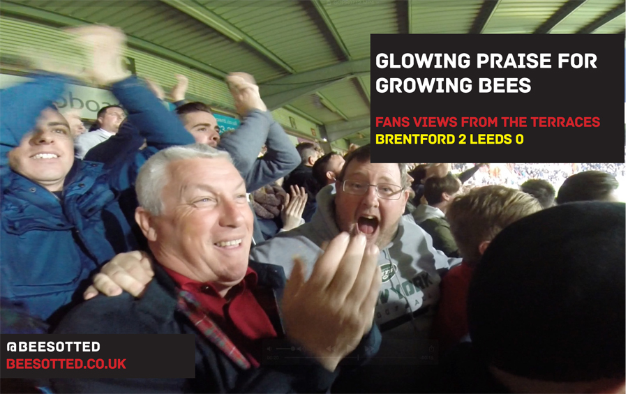 Glowing Praise For Growing Bees – Brentford 2 Leeds 0 (VIDEO)