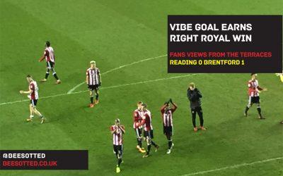 Brentford Show Their Championship Play-Offs Credentials – Reading 0 Brentford 1