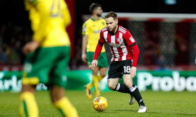 Battling Norwich Earn Full Points – Brentford 0 Norwich 1