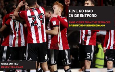Five Go Mad In Brentford – Brentford 5 Birmingham 0 (VIDEO)