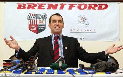 Martin Allen Joins Brentford Fans For A Night To Remember