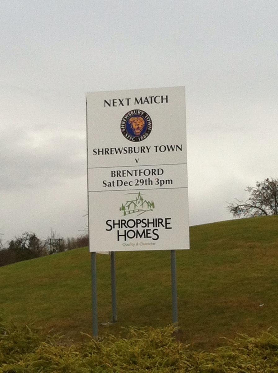 Shrewsbury 0 – 0 Brentford