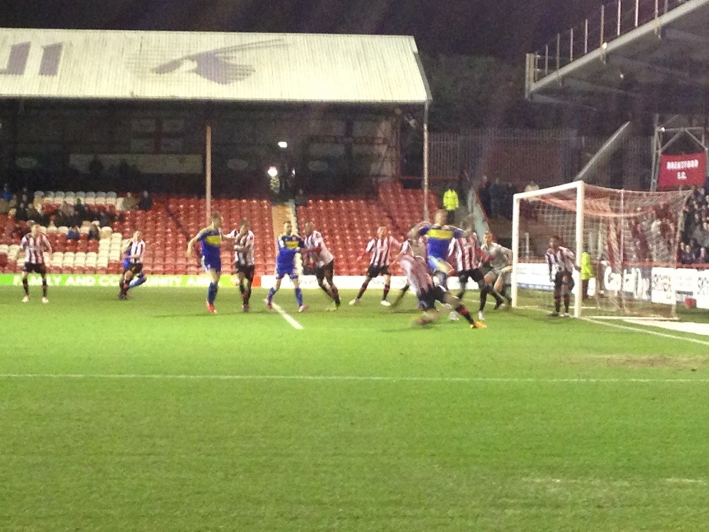 Brentford Come In From The Cold – Bees 2 Swindon 1