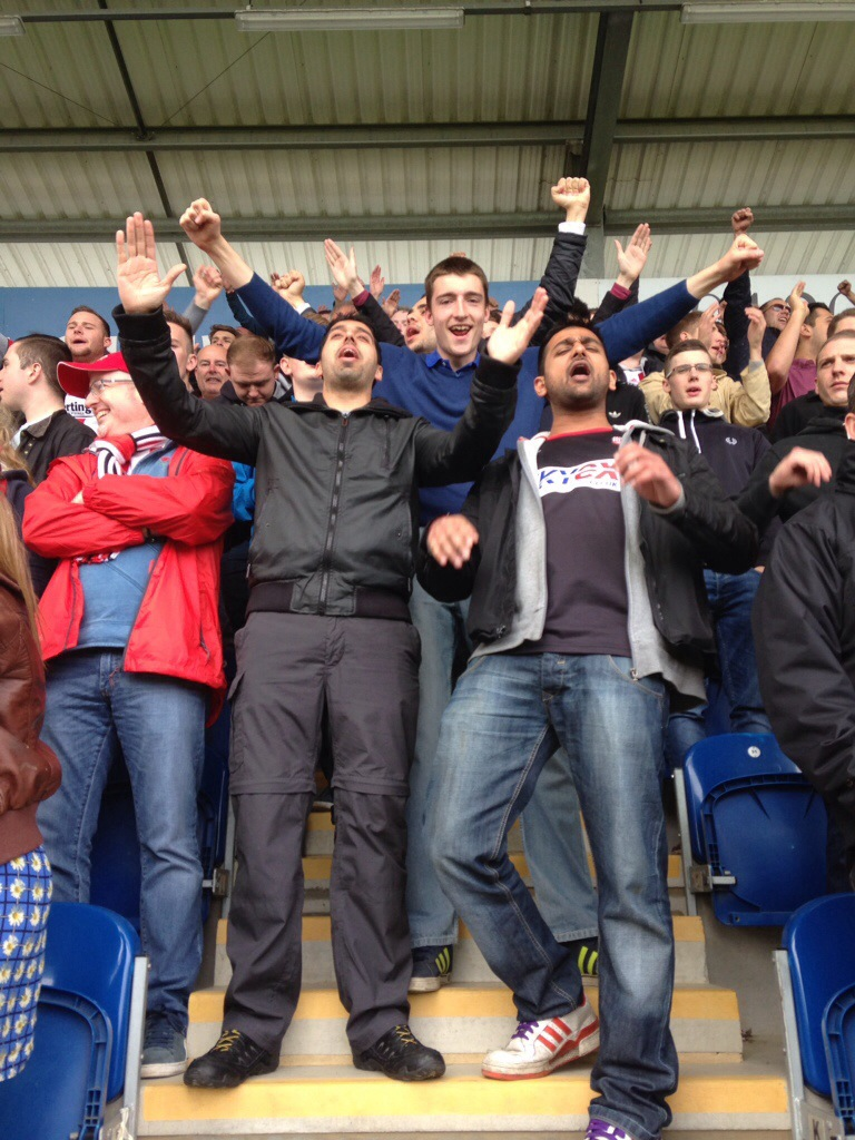 (VIDEO) The Strong Arm Of The Law – Bees Fans Witness Heavy Handed Policing & Stewarding