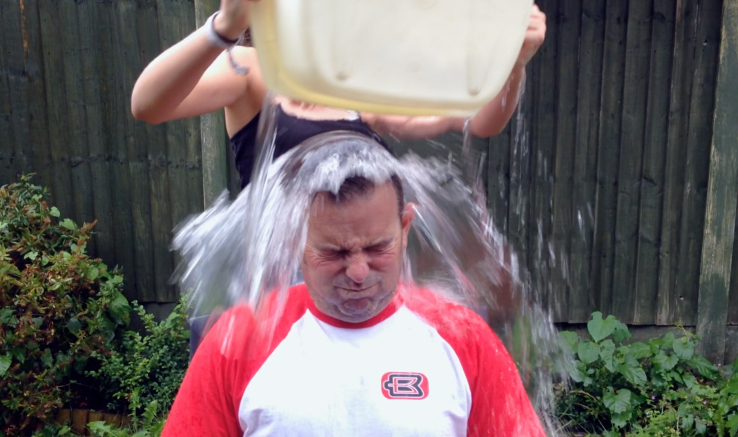 Beesotted Ice Bucket Challenge (VIDEO)