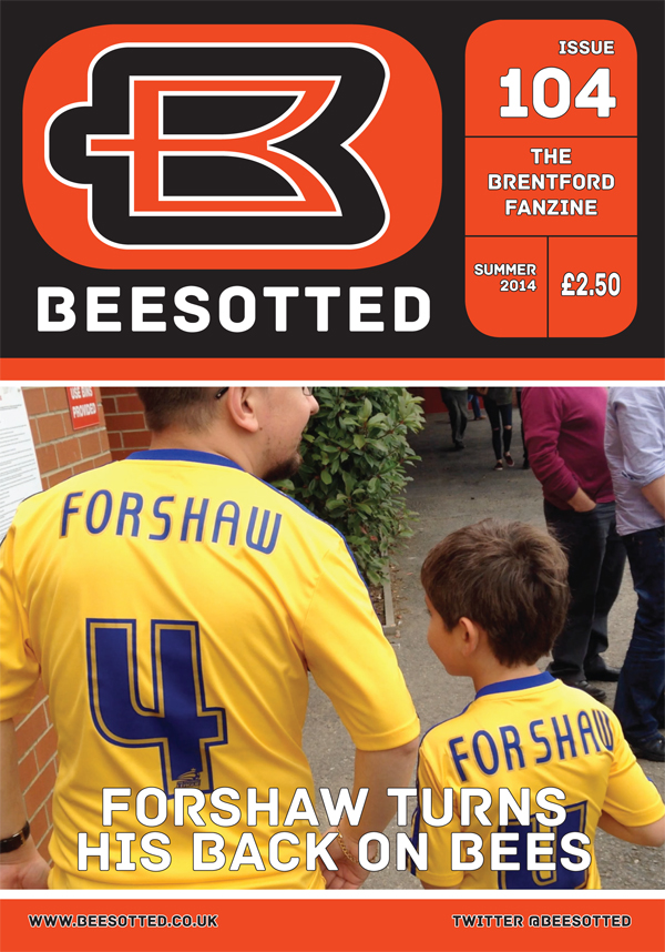 Beesotted Issue 104 – On Sale Against Brighton, Norwich & Boro