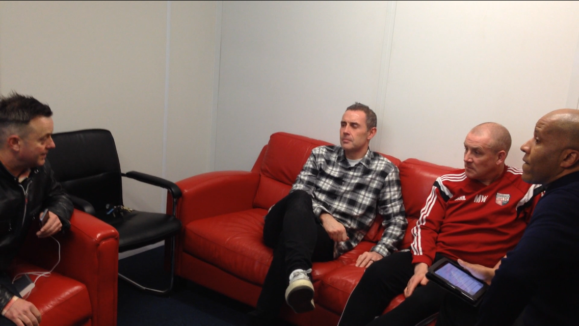 (VIDEO EXCLUSIVE) Mark Warburton and David Weir fan interview