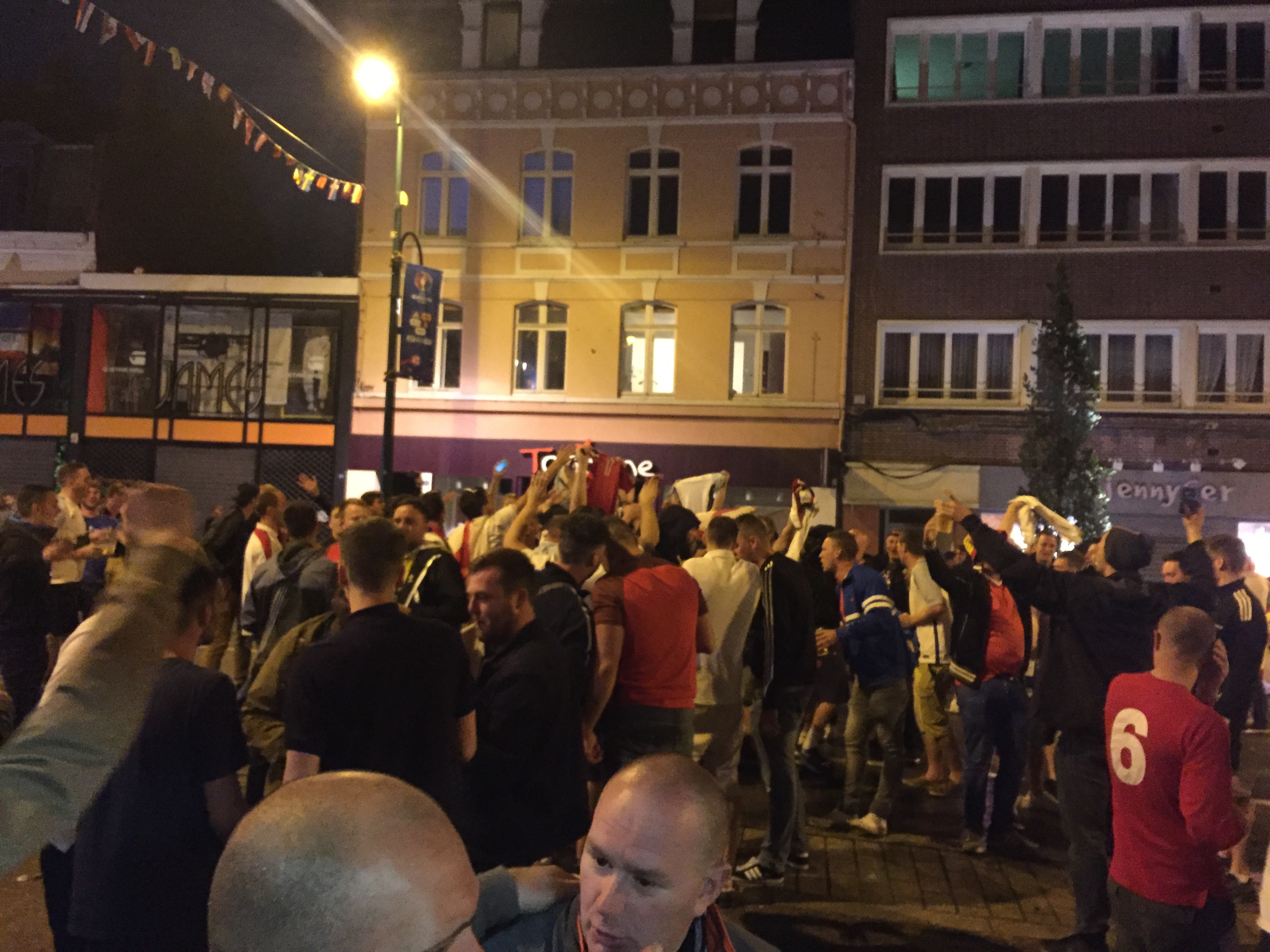 (POST MATCH PODCAST) On The Streets With England and Wales Fans In Lens