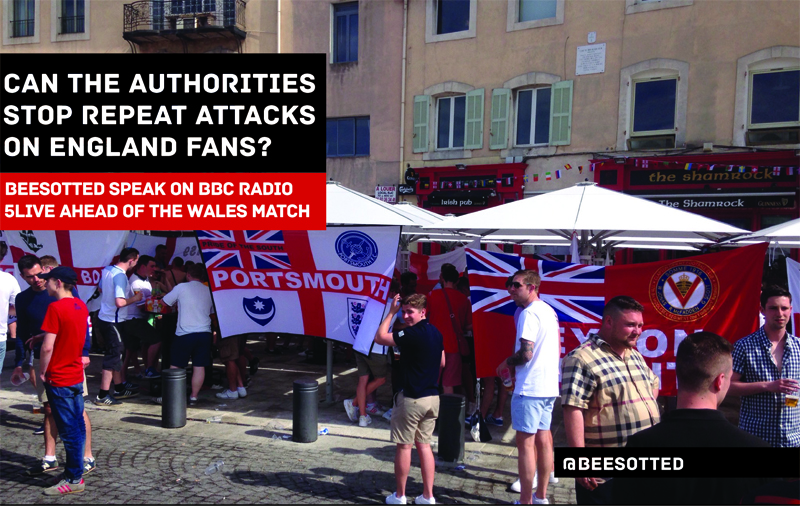 Can The French Police Stop Repeat Attacks On England Fans? BBC 5Live Interview