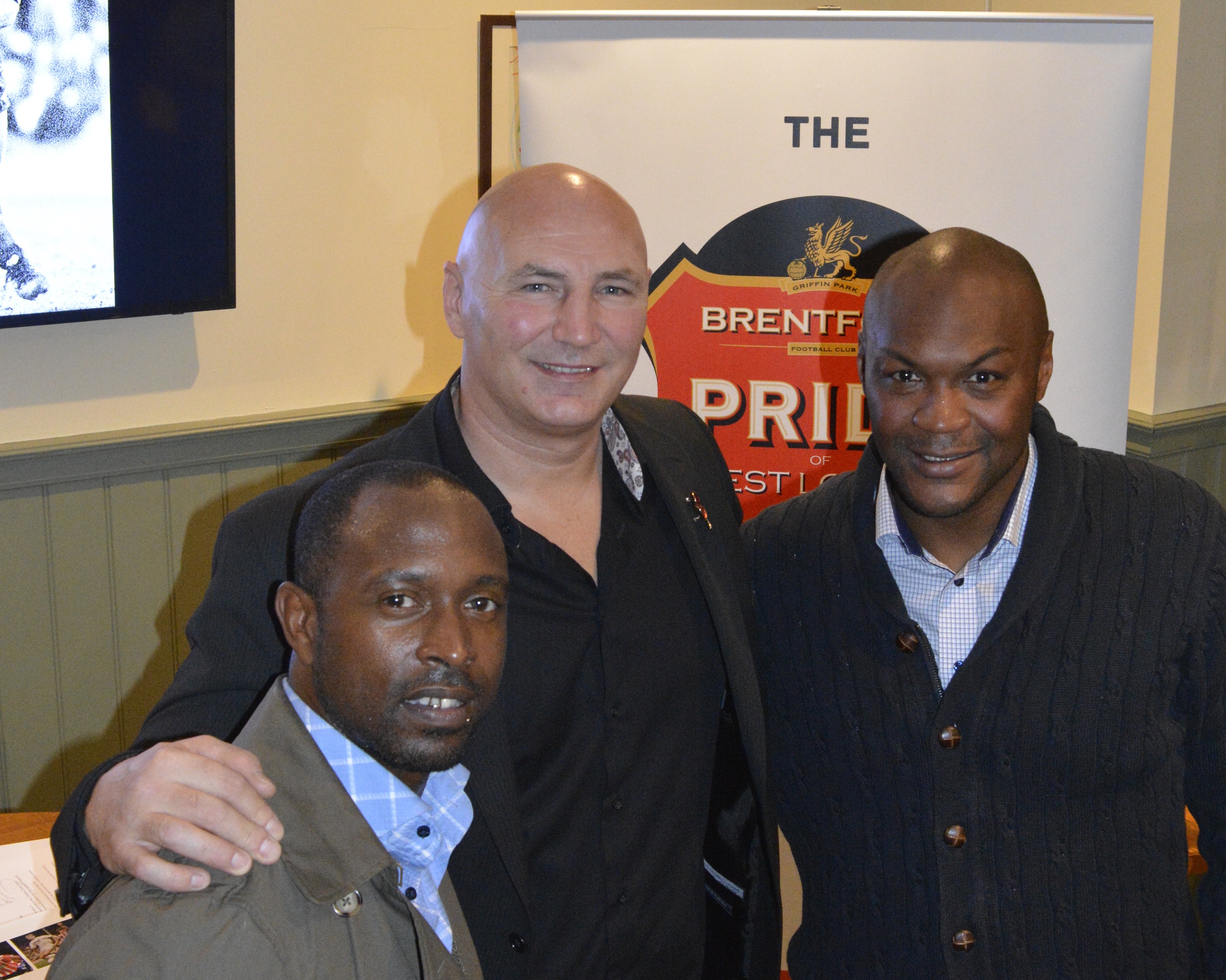 (AUDIO) Marcus Gayle, Terry Evans and Ijah Anderson Give Hilarious Lowdown on Their Times At Brentford at Lively Pub Event
