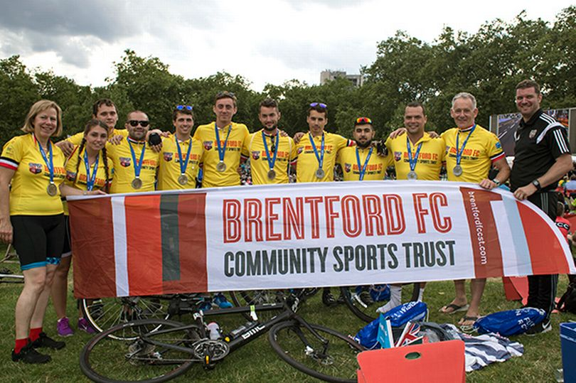 Sign Up and Join Brentford Fans Biking In The Ride London Marathon