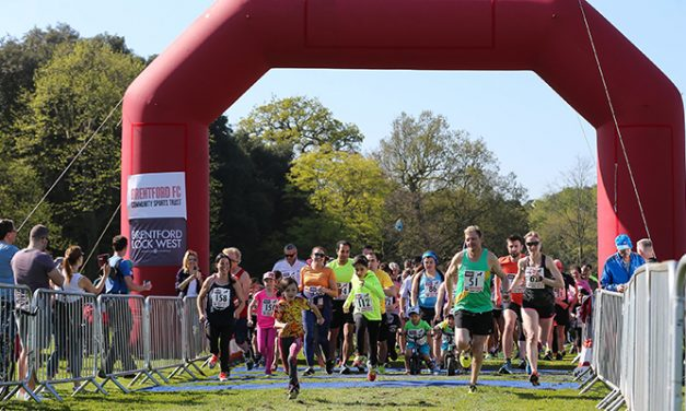 Run for Brentford In the Royal Parks Half Marathon