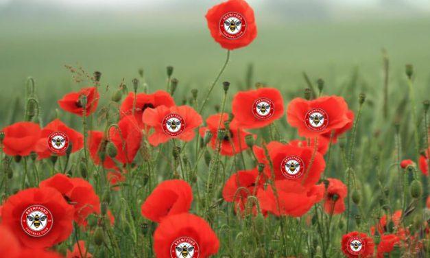 Brentford Football Club – Remembering the Fallen – 2019