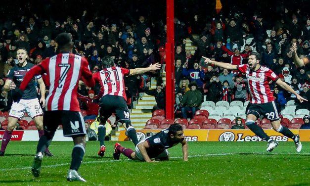 Festive Bees Win Over Villa Puddings – Brentford 2 Aston Villa 1