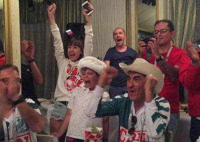 russian fans - penalty joy