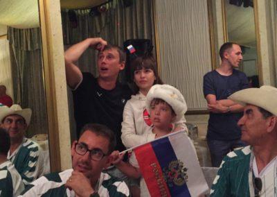 russian fans - penalty gutter