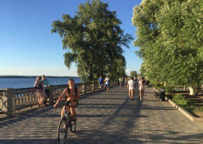 Samara boardwalk