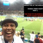 Beesotted in Russia. World Cup Blog Pt 1. Volgograd Erupts as Harry Kane Scores