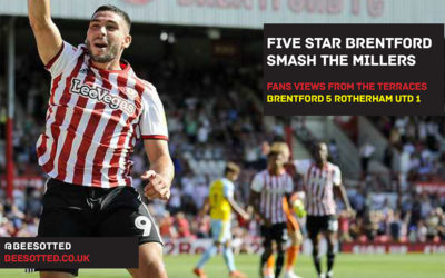 Brentford 5 Rotherham United 1 – Five Star Bees Smash The Millers