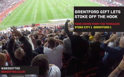 Brentford Give Stoke A Footballing Lesson But Have to Settle for a Point