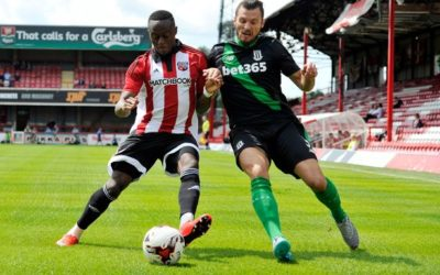Stoke Fans-Eye View of the Brentford Match – Duck Fanzine