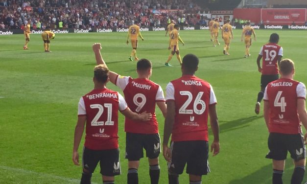 Maupay At The Double As Bees Go Second – Brentford 2 WiganAthletic 0