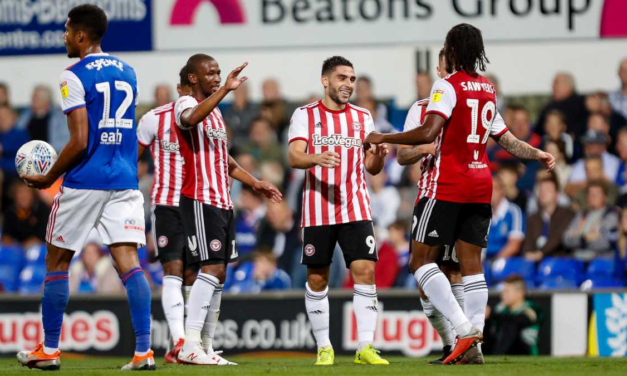 Bees Forced To Settle For Ipswich Draw – Town 1 Brentford 1