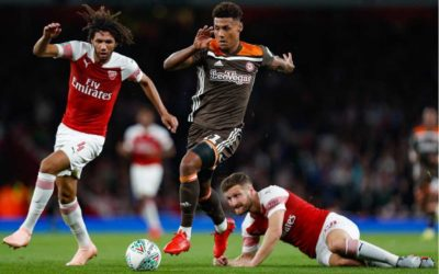 Arsenal 2 Brentford 3 – Bees sting Arsenal in lockdown warm-up