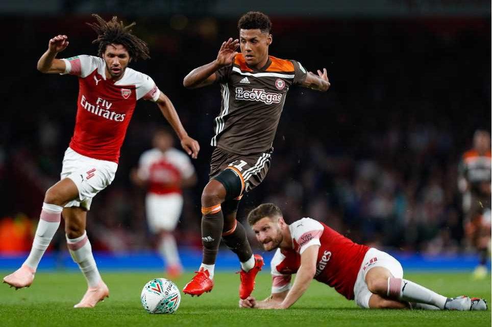 Arsenal 2 Brentford 3 – Bees sting Arsenal in lockdown warm-up