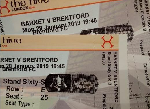 From a Bee to a Bee – A Barnet fan's FA Cup view