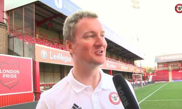 Post transfer window interview with Brentford Director of Football Phil Giles
