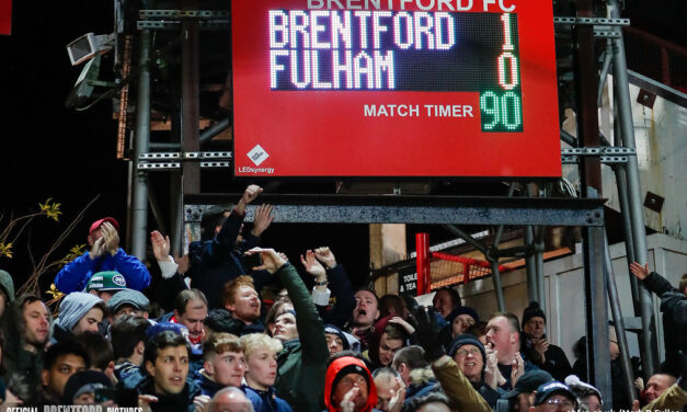 Watching From Above – A Spiritual Afternoon As Brentford Beat Fulham