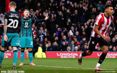 BrentfordFC 3 Swansea 1 – post-match podcast from the pub