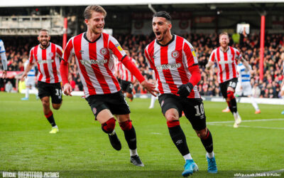 Brentford 3 QPR 1 – The West London Bus Stop Keeps Marching On