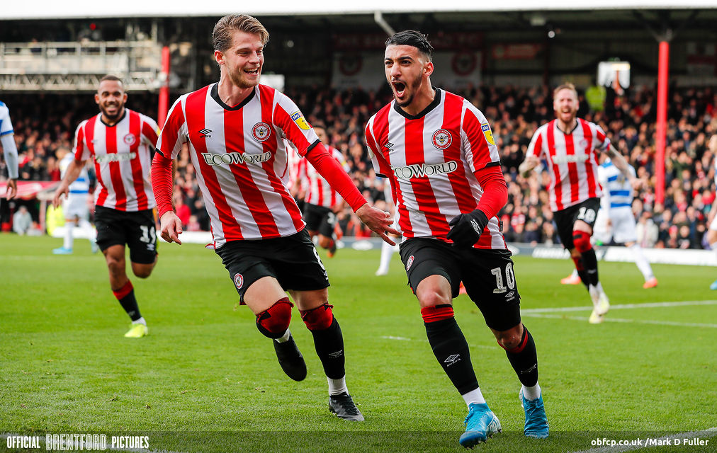 Brentford 3 Qpr 1 The West London Bus Stop Keeps Marching On Beesotted