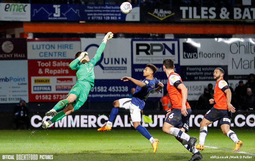Luton 2 Brentford 1 – post-match podcast in the snow