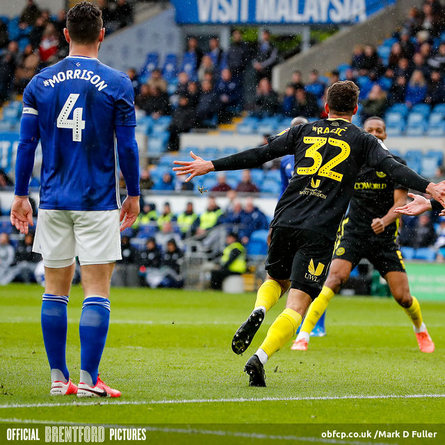 Cardiff 2 Brentford 2 – post-match podcast from Wales