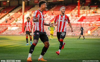 Brentford 1 West Brom 0 – Bees Hunt Down Top Two: Match Report and Stats.