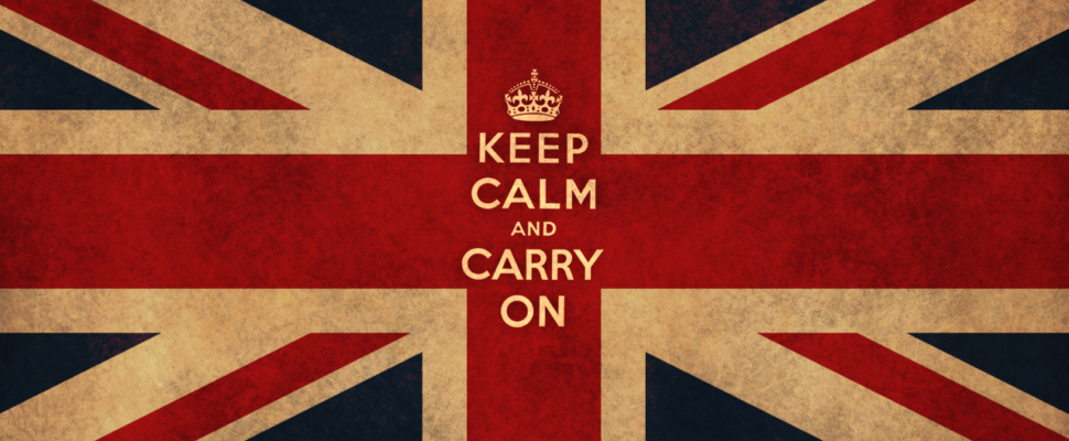 Keep Calm And Carry On Brentford