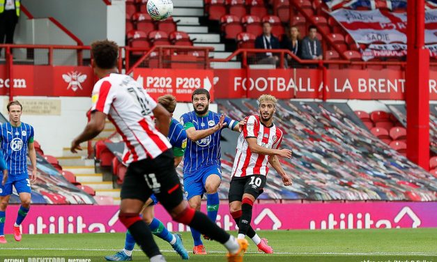 Brentford 3 Wigan 0 – post-match podcast from the get-together