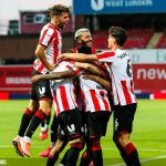 Brentford 3 Swansea 1 (3-2 agg.). Bees Give Griffin Park Stylish Send Off.