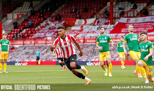 Brentford 1 Preston 0. Bees Grind Out Yet Another Win
