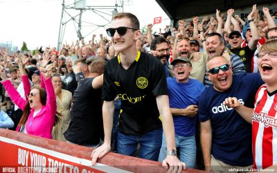 Back in the pub. Back in the stadium. Fans Are Back. Football's coming home – Brentford v Blackburn Pre-Match Podcast