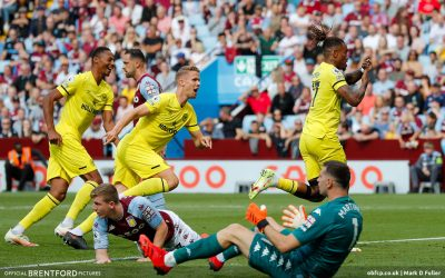 Aston Villa 1 Brentford 1 – post-match podcast from the stands